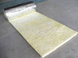 Foil glass wool blanket
